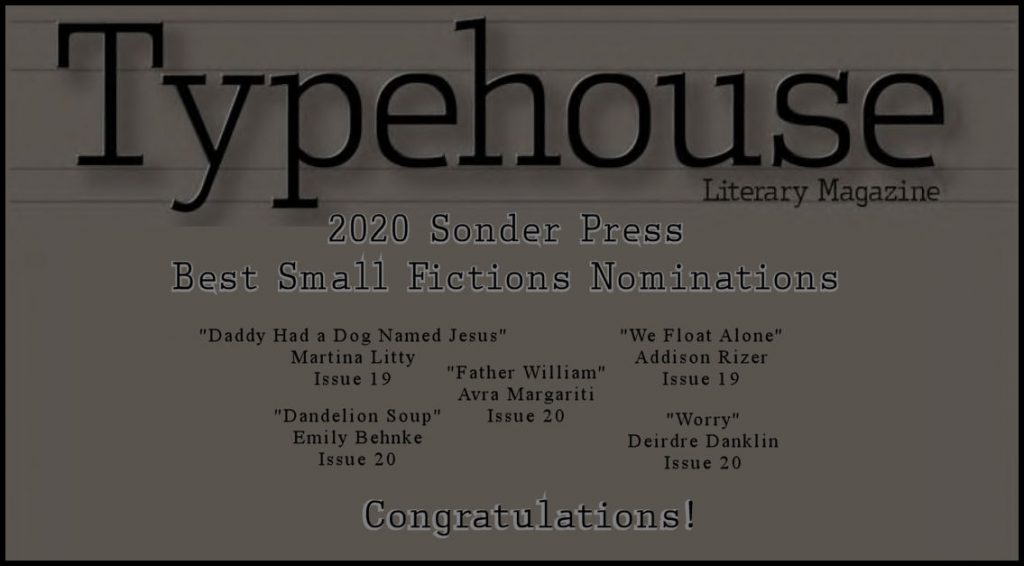 Best Small Fiction Nominations